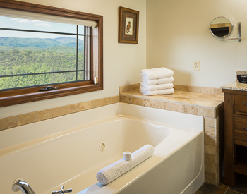 Picture of bath tub.