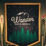 The Wander North Georgia logo
